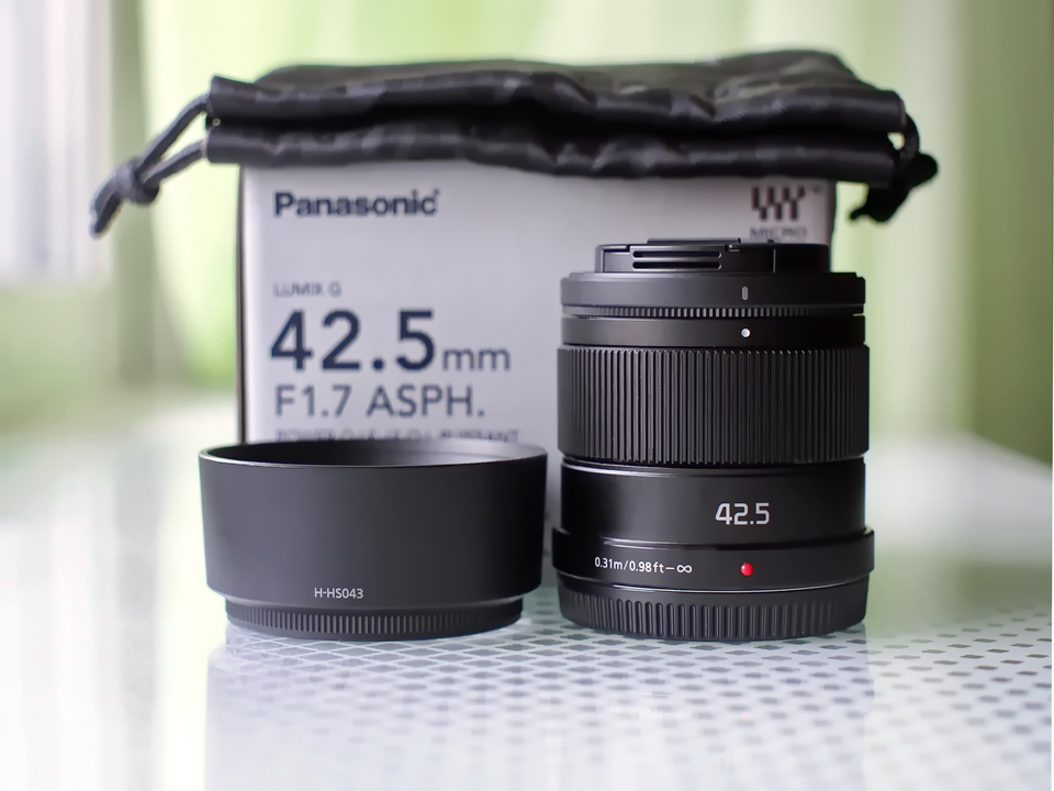 Новый Panasonic Lumix 42.5mm 1.7 G (42.5 мм) по России