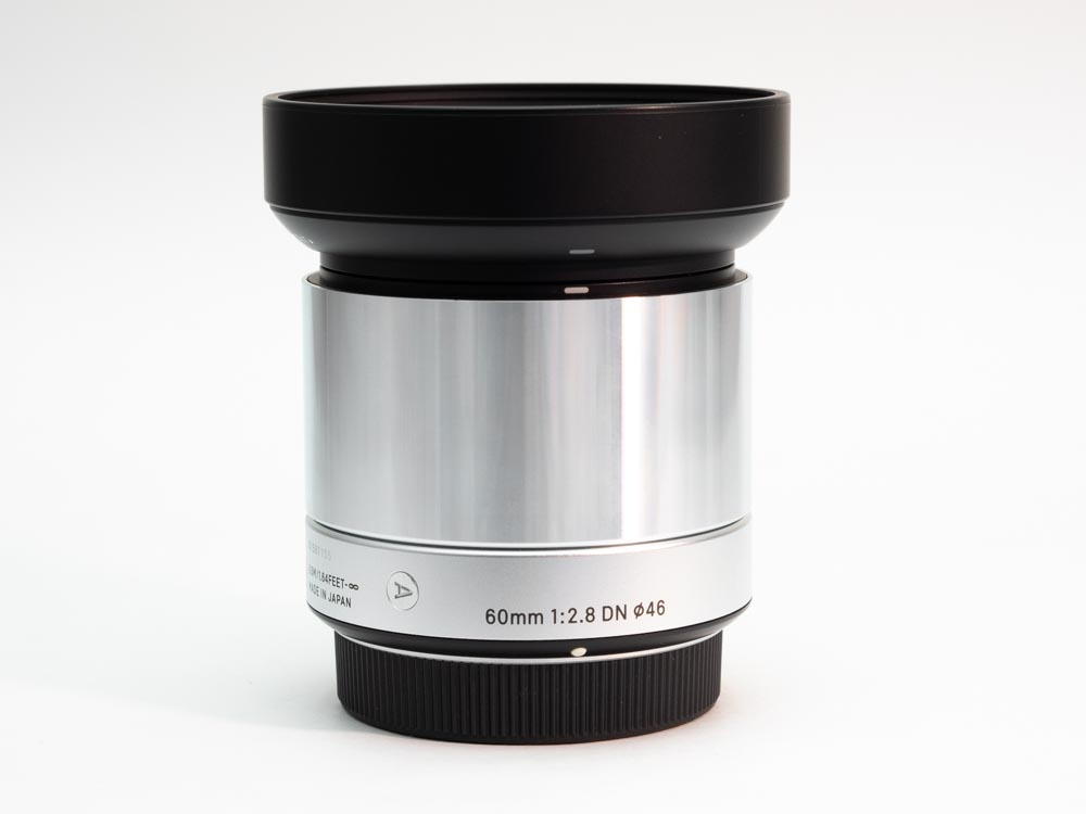 Sigma 60 mm f/2.8 Art