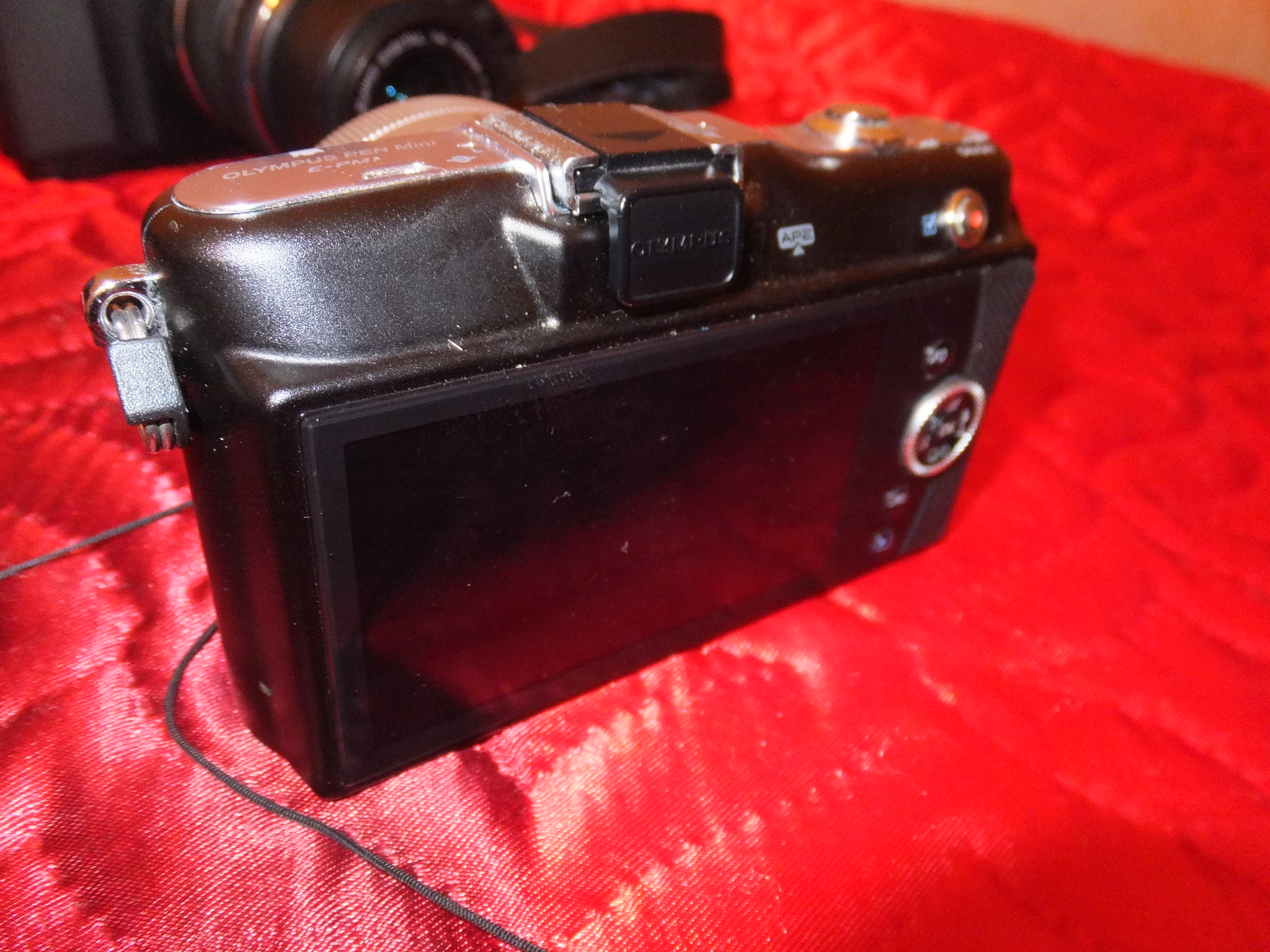 Olympus PEN E-PM1 Body инструкция, диск